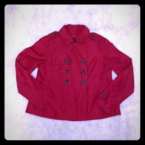 PEACOAT- short and light red spring/summer/fall